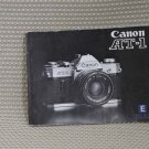 CANON AT-1 INSTUCTION BOOK OWNERS MANUAL - MINT B295