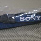 SONY AUTH BLACK AND BLUE CAMERA STRAP BRAND NEW