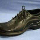 KENNETH COLE REACTION BLACK LEATHER OXFORDS 7.5 M EXCL