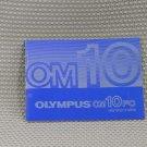 OLYMPUS OM10FC OM 10 FC INSTUCTION OWNERS MANUAL - B279