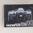 OLYMPUS OM10 OM-10 INSTUCTION BOOK OWNERS MANUAL - B278