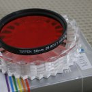 TIFFEN AUTH 58mm 25 RED 1 LENS FILTER USA EX+ F1013