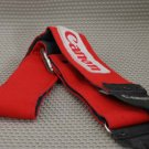 VTG RED CLOTH EMBROIDERED CAMERA STRAP HIPPIE CANON