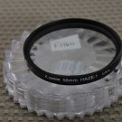 CANON AUTH 58mm  HAZE-1 FRONT LENS FILTER F1160