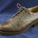 ARIAT WOMENS BROWN LEATHER OXFORDS SHOES 6.5 B