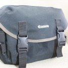CANON AUTH BLK/TAN SLR DIGITAL CAMERA GADGET BAG EX++