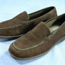 ROCKPORT WOMENS BROWN SUEDE LOAFERS WALKING SHOES 6 M