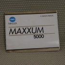 MINOLTA MAXXUM 5000 INSTUCTION BOOK OWNERS MANUAL B311