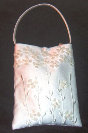 Field of Flowers Bridal Purse by Simply Charming