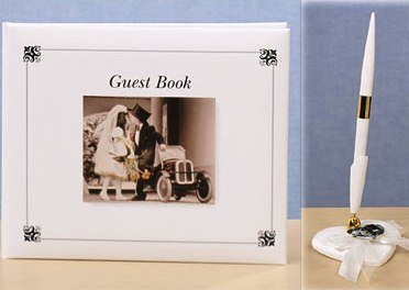 Kim Anderson Guest Book & Pen Set - Free Shipping!