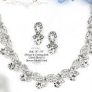 Elegant Tie Studded Cubic Zirconia Set by Mariel Designs