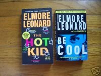 Lot of 2 Elmore Leonard pb Be Cool, The Hot Kid