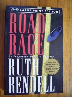 Road Rage - Ruth Rendell 1997 LARGE PRINT TPB
