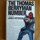 The Thomas Berryman Number by James Patterson HB DJ 1st 1976