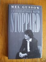Conversations With Stoppard by Mel Gussow (1995) HB DJ 1st edition