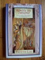 White As Snow - Tanith Lee 2000 HB DJ