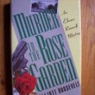 Murder in the Rose Garden Elliott Roosevelt HB DJ 1st