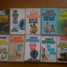 Lot of 10 John MacDonald pb Contrary Pleasure, Damned
