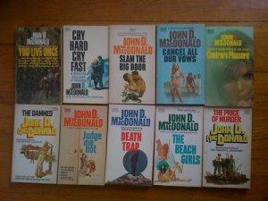 Lot of 10 John MacDonald pb Contrary Pleasure, Damned