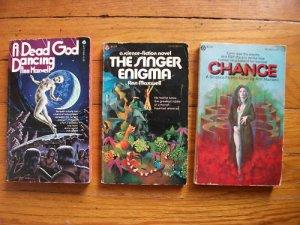Lot of 3 Ann Maxwell pb Singer Enigma, Change, Dead God