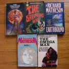 Lot of 5 Richard Matheson pb Shock 1, The Shrinking Man