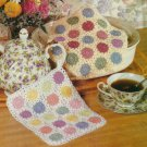 CROCHET PATTERN ONLY Pot Holder Trivet Mitt Doily 10