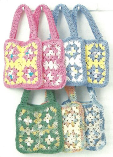 How To CROCHET PATTERN BOHO Hippie Purse Bag Tote Hippy Book Bags 122 ...