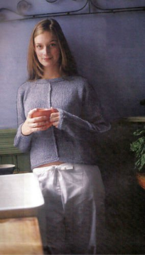 HOW TO KNITTING PATTERN ONLY Knit Pullover Sweater 82