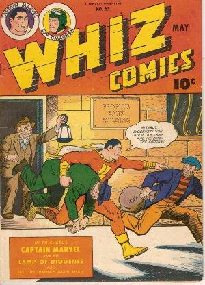 WHIZ COMICS #65 W/ CAPTAIN MARVEL