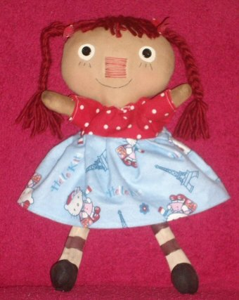 Hello Kitty Raggedy Dollie