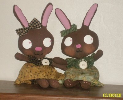 Little bunnie sweetie Raggedy dollies