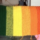 Shaded Rainbow Afghan (King Size)