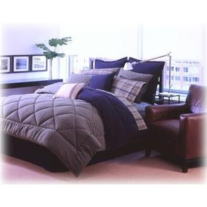 Nautica Rigger  Navy Twin Comforter Set Extra Long Sheet Set Dorm Bedding 5 PC
