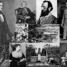 CIVIL WAR PHOTO COLLAGE SEVERAL PHOTOS IN ONE GENERAL ROBERT E LEE STONEWALL JACKSON
