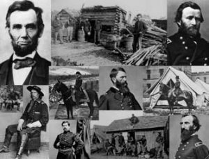 PHOTOS GENERAL ULYSSES S GRANT JOE HOOKER & GEORGE ARMSTRONG CUSTER