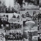 3 PACK OF HISTORIC PHOTO COLLAGES CIVIL WAR WORLD WARI WWII WW1 WW2 PHOTOS (choose 3 photo collages)