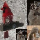 Create YOUR OWN WILDLIFE AREA SQUIRRELS BEARS & RACCOONS LOVE BAKER WINDOW BIRD FEEDERS