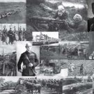 HISTORIC 15 PHOTO COLLAGE OF WORLD WAR I GAS BOMBS GERMAN SUBMARINE TRENCH WARFARE PERISCOPE WW1