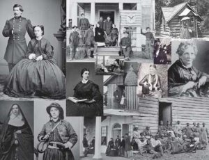 Photo of 40 WOMEN of the AMERICAN CIVIL WAR CIVIL WAR PHOTO COLLAGE GREAT GIFT IDEA!