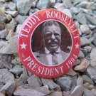 7 BUTTONS FOR THE 1904 PRESIDENTIAL CAMPAIGN OF PRESIDENT THEODORE ROOSEVELT