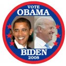 PRESIDENT ELECT BARACK OBAMA and VP JOE BIDEN (7-PACK OF BUTTONS Political Buttons Pins Pinbacks)