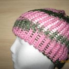 Pink waves skullcap