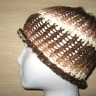 Brown Waves skullcap