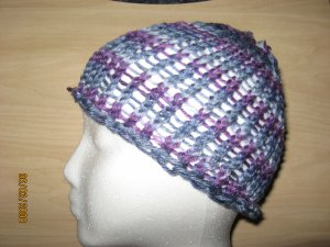 Purple gray skullcap