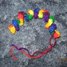 Rainbow Twist cat toy