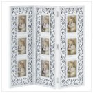 Distressed White Photo Frame Screen