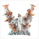 Jesus in Clouds Wall Light