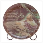 Jesus Praying Porcelain Plate