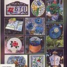 Outdoor STAINED GLASS INLAY 14 Patterns