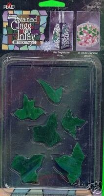 Gallery Glass IVY LEAF Inlay for Stain Glass or Mosiacs